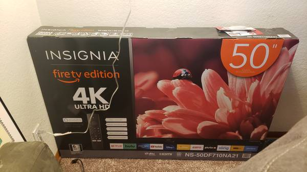 Photo Brand new 50 inch UHD SMART TV (fire TV edition) - $250 (Eugene)