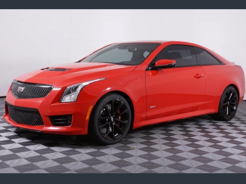 Photo Certified 2016 Cadillac ATS V Coupe w Luxury Package for sale