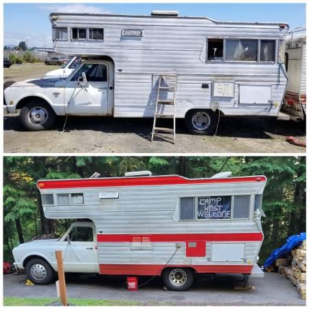 Photo Classic Chevy C30 Truck  RV Cer - $15,000 (Springfield)