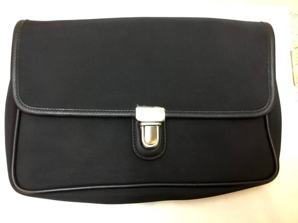 Photo Coach Black Travel Clutch Bag - $70 (Southeast Eugene)