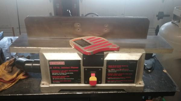 Photo Craftsman 2hp 6 18quot jointer planer - $200 (Corvallis)