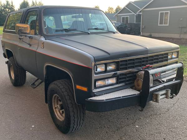 Photo Cummins 4BT K5 Diesel 4x4 Chevy Blazer - $9000 (Lebanon Oregon)