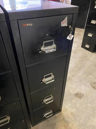 Photo Fireking  Fire king fire resistant filing cabinet - $650 (Eugene)