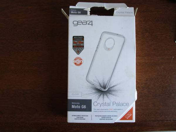 Photo Gear4 Crystal Palace Series Case for Motorola Moto G6 - Clear - $3 (NW EugeneBethel)