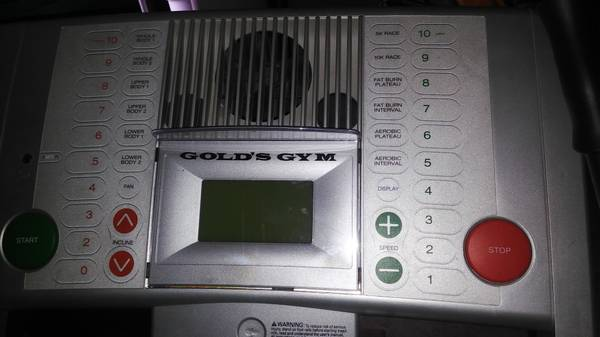 Photo Golds Gym Treadmill - $150 (Eugene)