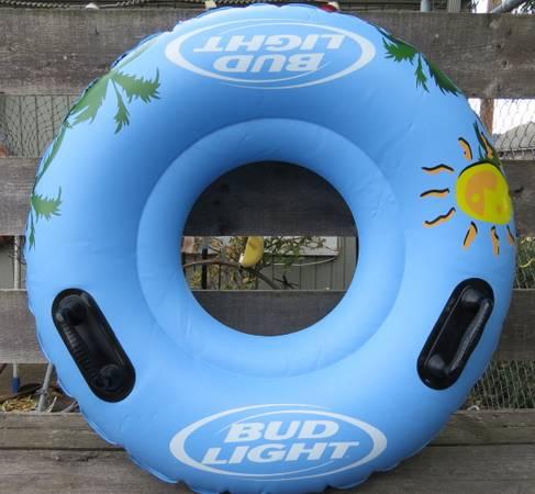 Photo Great Gift - New In Box - Seyvlor Bud Light Inflatable River Tube - $50 (Eugene)