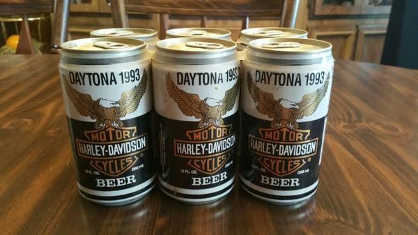 Photo Harley Davidson 1993 Daytona 6-Pack Beer Limited Edition - Unopened - $25 (Eugene)