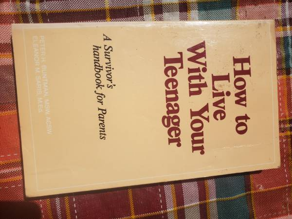 Photo How to Live With You Teenager - $3 (Yoncalla)