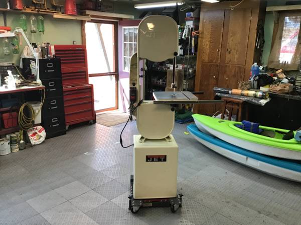 Photo Jet 14 Woodworking bandsaw - $500 (Eugene)