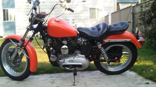 Photo Near vintage Harley - $4,000 (Eugene)