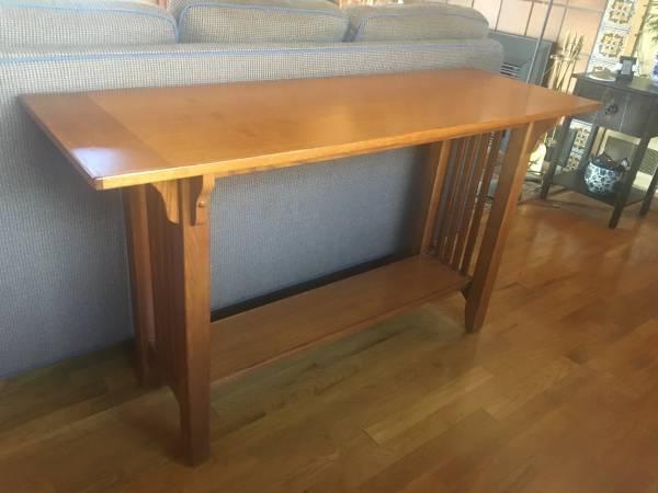 Photo Oak craftsman table - $50 (River Road, Eugene)