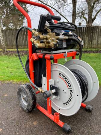 Photo RIGID WATER JETTER KJ-1750 - $1500 (EUGENE)