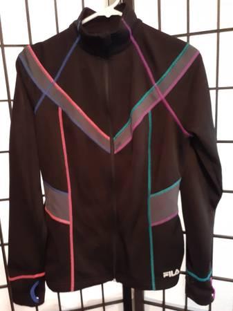 Photo Really Nice Fila Women39s Medium WorkoutSport Jacket - $6 (S. Eugene)