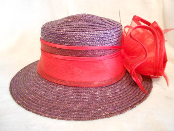 Photo Red Hat Society 2 Hats and 4 Visors - $8 (Springfield)