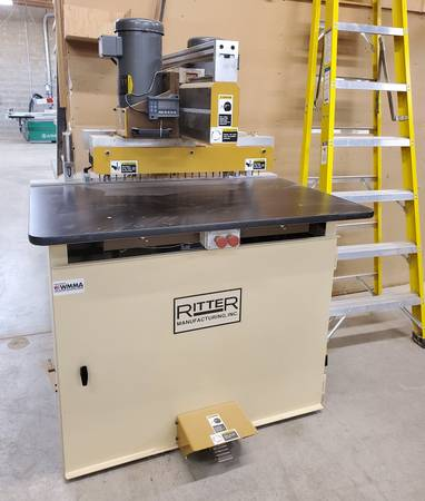 Photo Ritter R46 Double Row Line Boring Machine Made in USA (Portland)