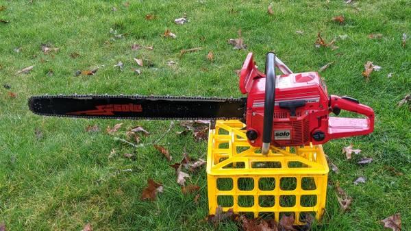 Photo Solo 667 chainsaw - $400 (ELMIRA)