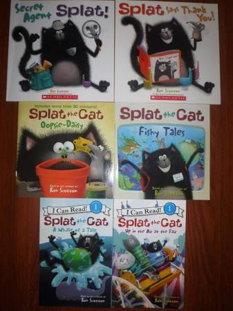 Photo Splat the Cat books - $20 (Eugene)