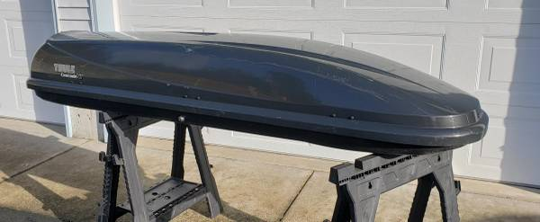 Photo THULE CASCADE XL ROOF CARGO CARRIER - $325 (Tillamook)