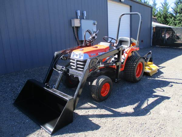 Photo Tractor, Kubota B7300, ONLY 13HRS, - $13,900 (West Linn Oregon)