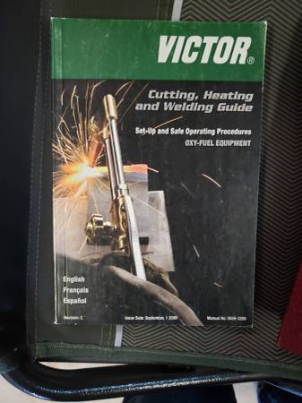 Photo Victor Cutting, Heating and Welding Guide - $10 (Eugene)