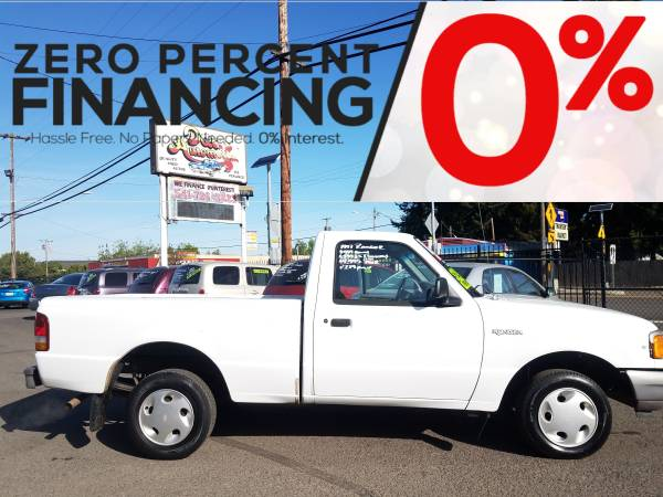 Photo We APPROVE You with Your TAX RETURN 1997 Ford Ranger 5 Speed - $899 (DOWN$279 Interest Free Financing for 12 Months  Ownership)