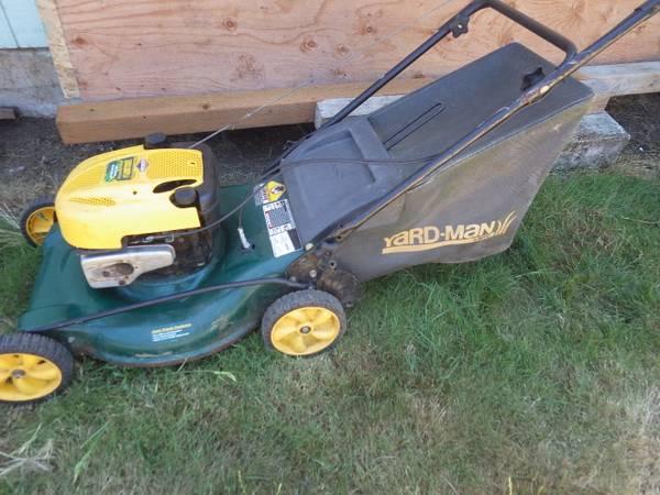 Photo Yard Man Self Propelled lawn mower - $140 (Eugene)