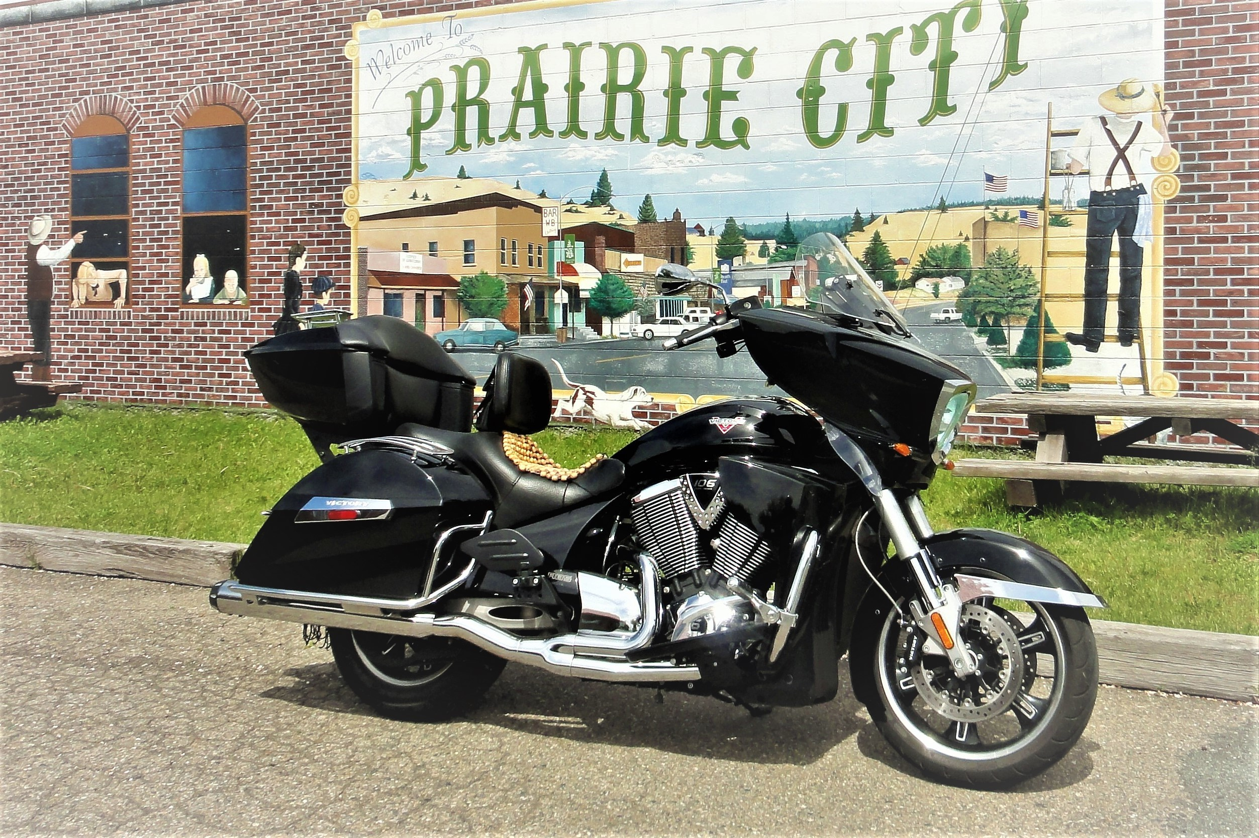 Photo Used 2013 Victory Touring Motorcycle  $7500