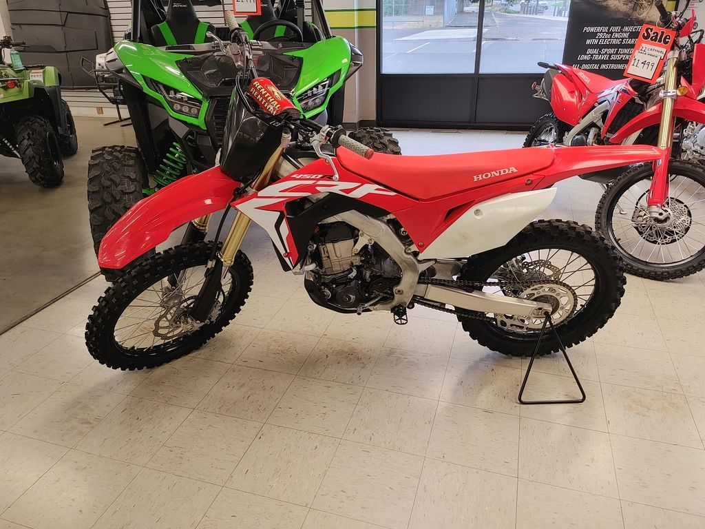 Photo Used 2019 Honda Dirt Bike Motorcycle  $8499