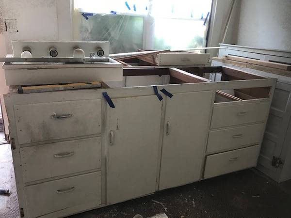 Photo vintage kitchen cabinets (downtown eugene)