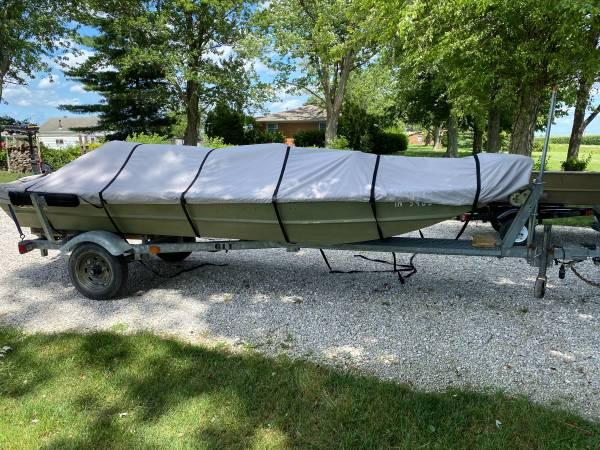 Photo 14 ft Jon boat - $2,200 (Boonville)