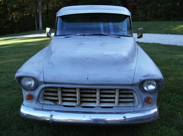Photo 1955 CHEVROLET 3100 PICKUP - $13,500 (Boonville Indiana)