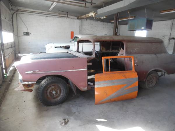 Photo 1956 Chevy Sedan delivery-more project cars - $6,500 (Hartford)