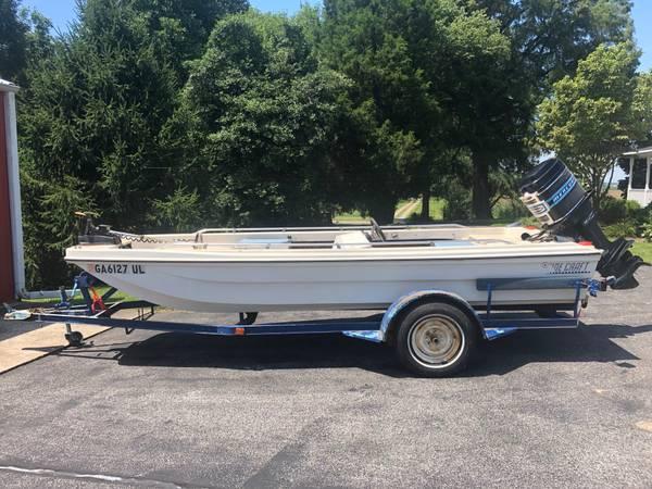 Photo 1970 Tidecraft w 140 HP Mercury Outboard - $650 (Newburgh)