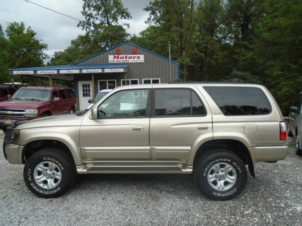 Photo 2001 Toyota 4Runner LIMITED  No Rust  4x4 ( GREAT CONDITION ) - $5,200 (Paducah  www.ckmotorsky.com)