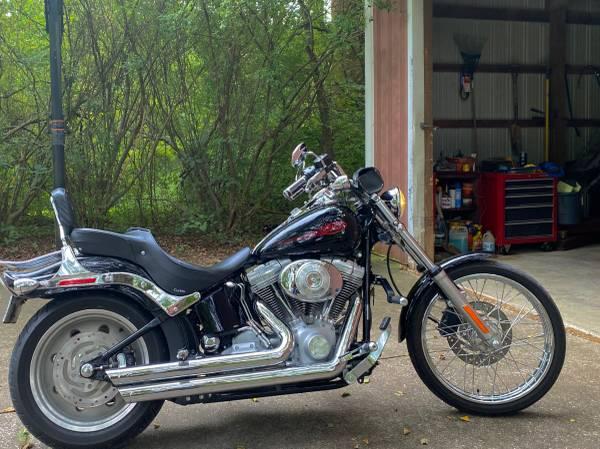 Photo 2006 Harley Davidson FXST Softail - $7,000 (Boonville)