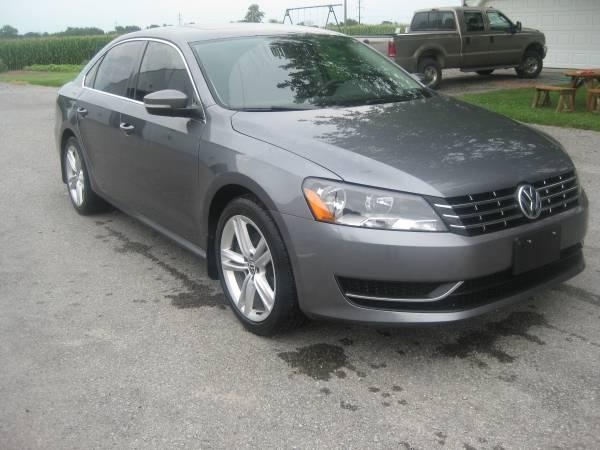 Photo 2014 VW PASSAT TDI - $9300 (Johnsonville)