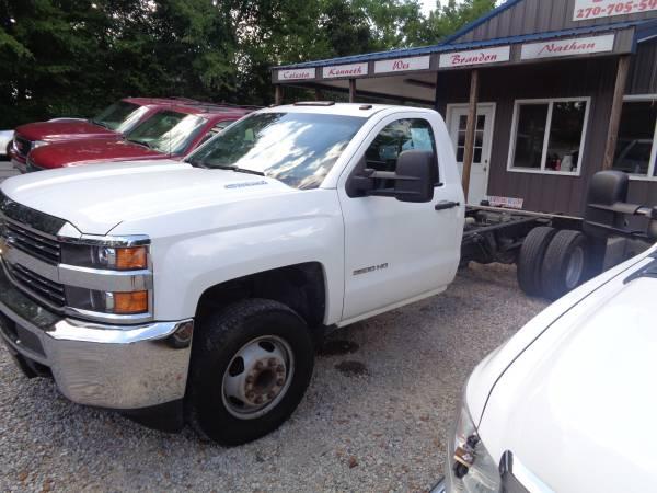 Photo 2015 Chevy Silverado 3500 6.6LDiesel  Dually  Allison Trans - $11,500 (Madisonville  www.ckmotorsky.com)