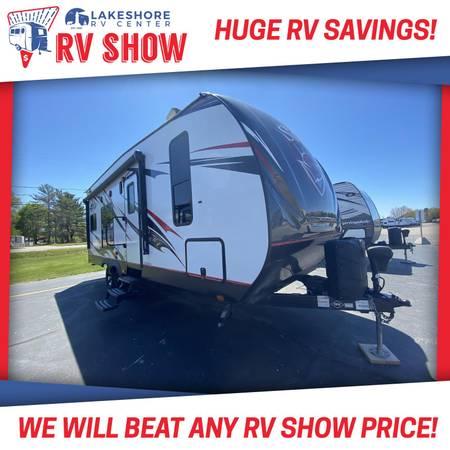 Photo 2018 Stryker 2313 Toy Hauler RV Cer Travel Trailer - MAKE AN OFFER - $28,455