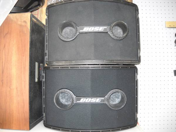 Photo 2- BOSE 802 CABS wSPEAKERS - $125 (chandler)
