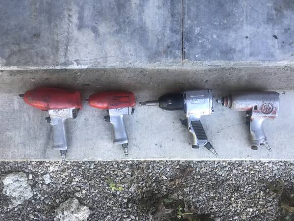Photo 4 Air Impacts 2-Snap On Tools , Chicago Pneumatic Cummins PrC - $1 (Chandler In)