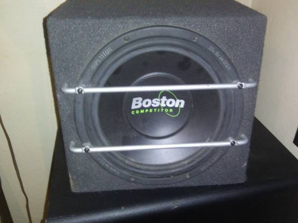 Photo Boston 10 inch Competitor Subwoofer - $150 (Jasper Ind)