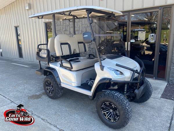 Photo Golf Cart 2021 Star Sirius 48v Lifted White Diamond Pearl - $12,751 (Haubstadt)