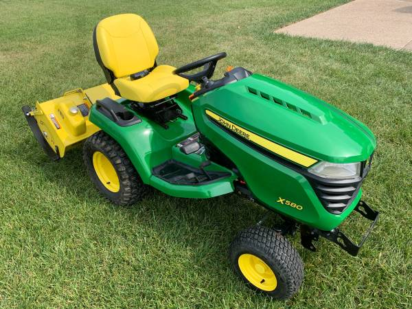 Photo John Deere Garden Tractor Package - $8,900