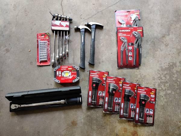 Photo Lot of husky tools - $100 (Evansville Northside)