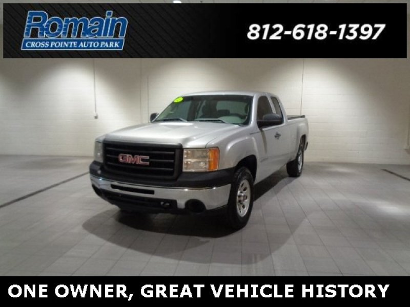 Photo Used 2012 GMC Sierra 1500 4x4 Extended Cab for sale