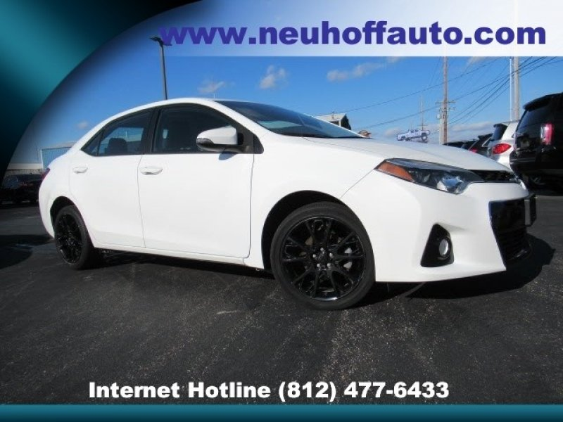 Photo Used 2016 Toyota Corolla S Special Edition for sale