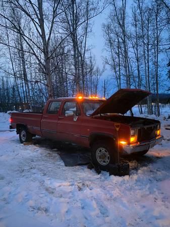 Photo 1985 chevy k20 - $5,500 (Fairbanks)