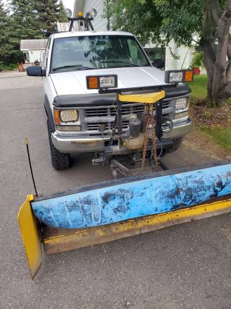 Photo 1998 Chevy 2500 4x4 turbo 6.5 diesel plow truck - $7000 (Fairbanks)
