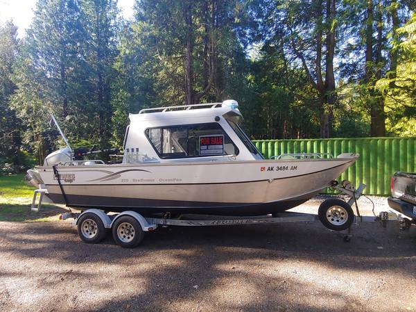 Photo 2006 Hewescraft Ocean Pro 220 - $48,500 (Anchorage)