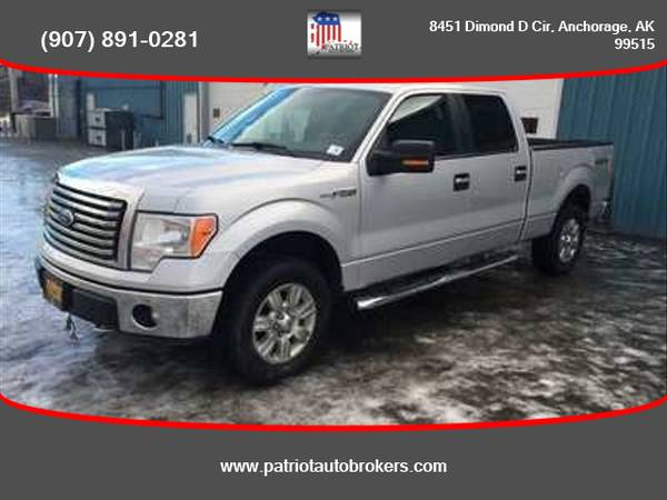 Photo 2012  Ford  F150 SuperCrew Cab  4WD - PATRIOT AUTO BROKERS - $15499